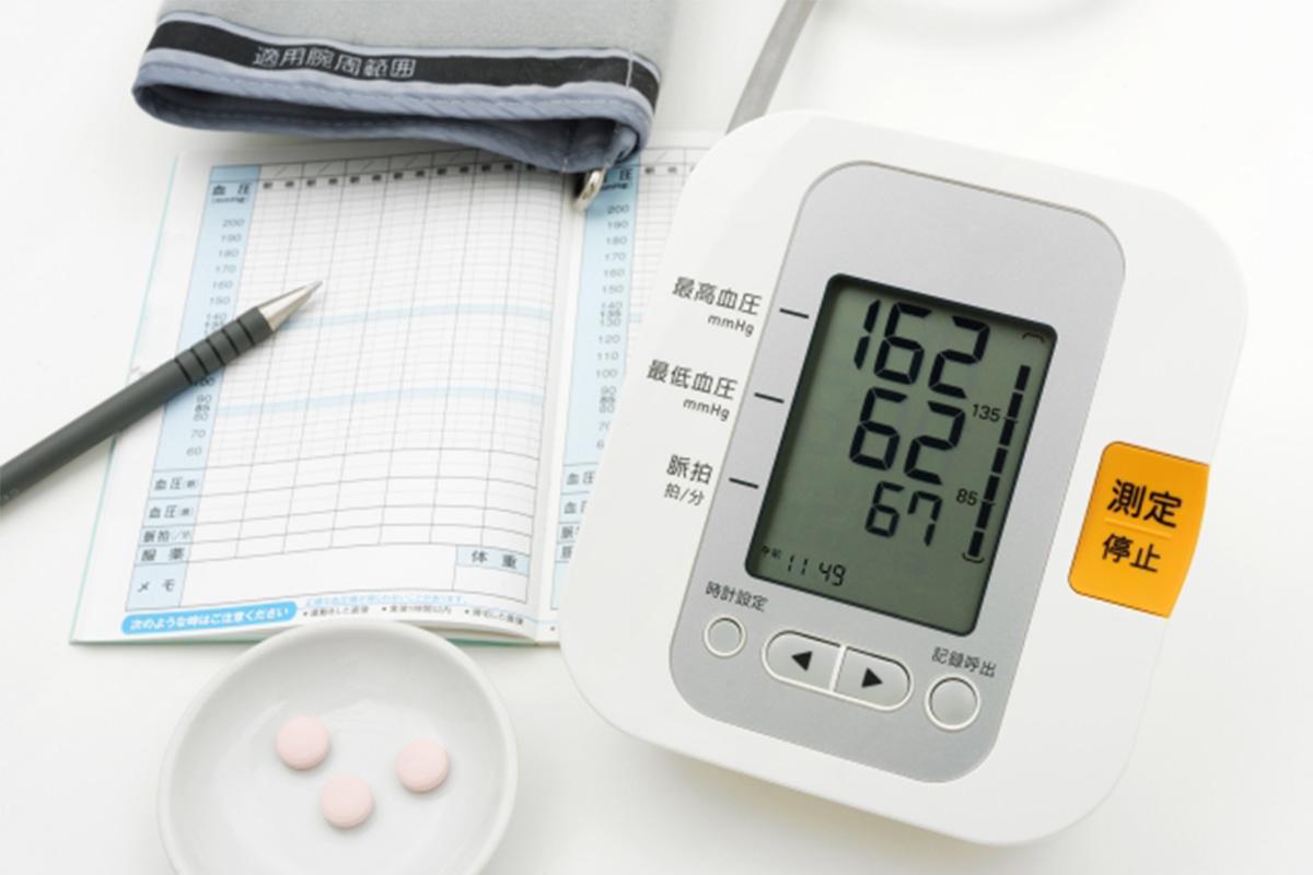 高血圧の測定イメージ