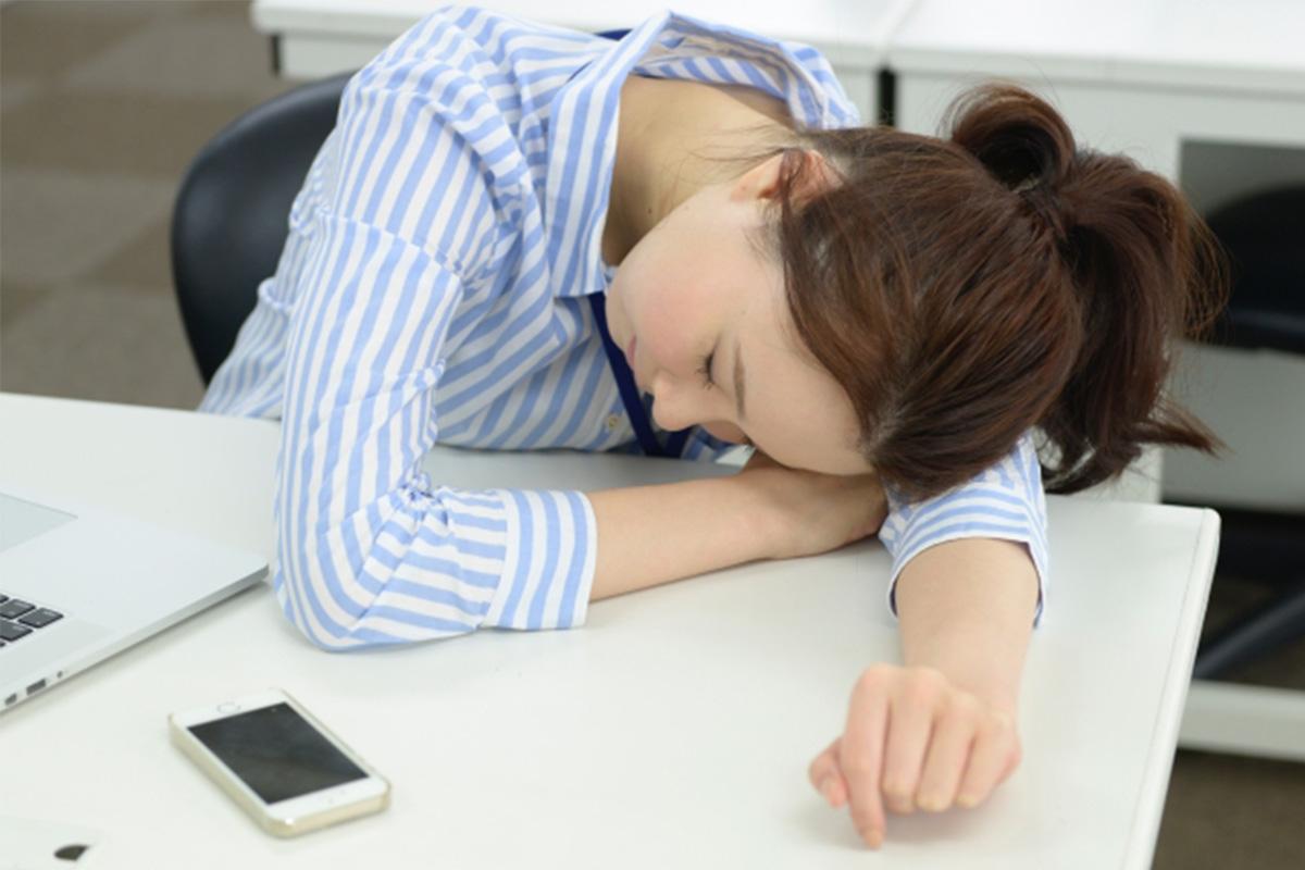 更年期による疲労感・倦怠感イメージ